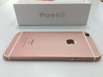iPhone 6S розовый (rose gold) 16 гб