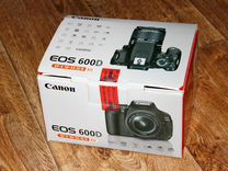 Canon EOS 600D Kit Canon EF-S 18-55mm f/3.5-5.6 IS