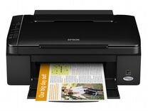Принтер epson TX 117