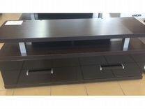 Тумба тв-1 черное стекло — Мебель и интерьер в Самаре