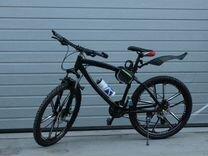 Велосипед на тлитых дисках