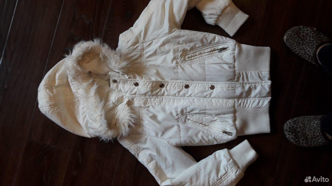Куртка демисезонная на девочку 7-9 лет  89188230200 купить 1