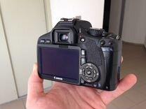 Зеркальная камера Canon 550D и объектив 18-55