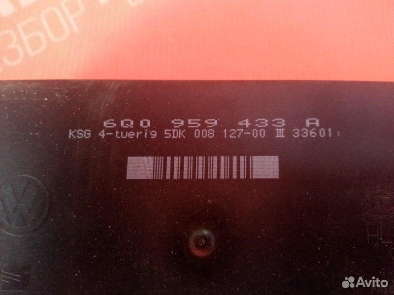 Блок комфорта Skoda Fabia Фабия 1 AME 2001  89534094813 купить 3