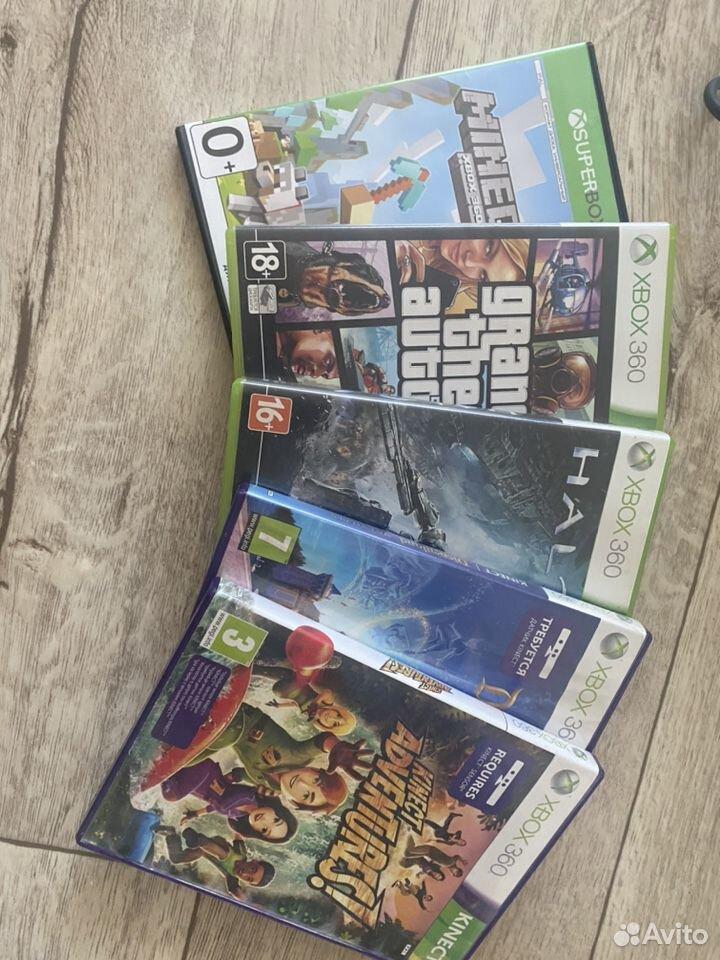 Xbox 360 + Kinect  89145801110 купить 3