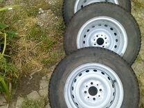 Комплект зимних колес для ваз