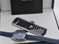 Vertu signature S design black