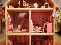 Кукольный домик с чердачком