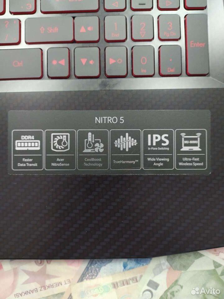 Игровой ноутбук Acer Nitro 5AN515-52  89114609719 купить 4
