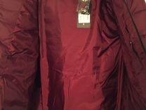 Новая куртка, бордовая