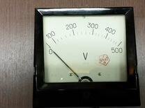 Продам вольтметр аналоговый 500V - СССР