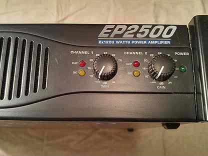 Усилитель Behringer EP 2500