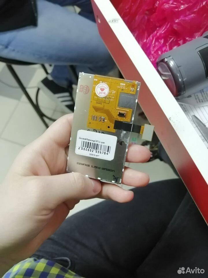 Экран на телефон Samsung C6712 ориг  89003081353 купить 9